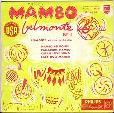 "BELMONTE ORCH. ""MAMBO BELMONTE"" 50'S EP PHILIPS 429.118"