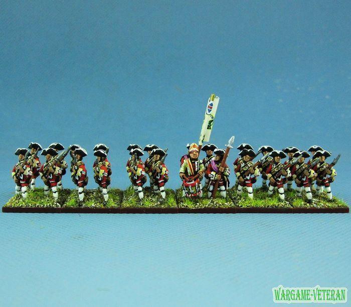 15mm syw sette anni di guerra wgs dipinto british moschettiere moschettiere british btln ba3 1fc238