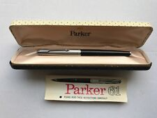 Parker 61 vintage Fountain pen c/w original case and instruction leaflet