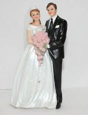December Diamonds Bride and Groom Couple Wedding Cake Topper Figurine