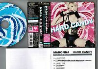 Promo MADONNA Hard Candy JAPAN CD WPCR-12880 w/OBI+JAPANESE BOOKLET Free S&H/P&P
