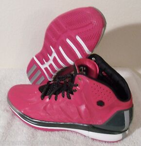 8481a6d6f4ce NWT Adidas D Rose 4.5 Brenda Breast Cancer Mens Basketball Shoes 17 ...