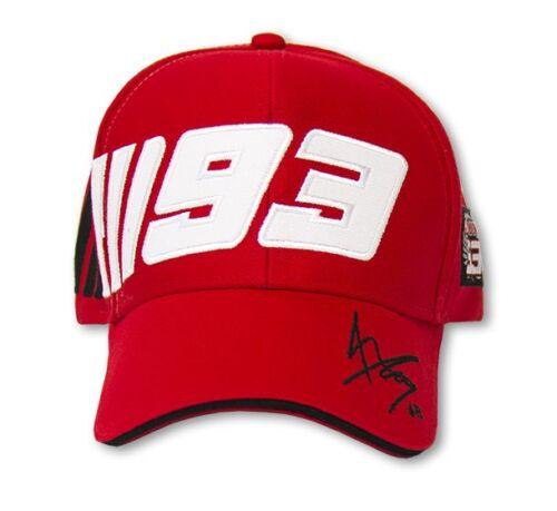 New Official Marc Marquez 93 Red MM93 Cap MMMCA 59707