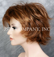 Classy and chic Everyday wig Multiple layers Strawberry Blonde Mix lo 33-27
