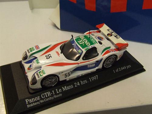 24H LE MANS 1997 PANOZ GTR-1 N° 55 TEAM DPR 1 43ème - ACTION référence AC4978955