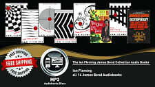 14 - Ian Fleming James Bond Audiobook Collection Lot • COLLECTORS EDITION