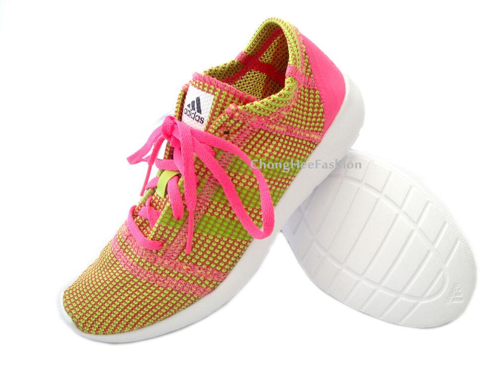 Adidas femmes Sport Gym chaussures Course lacet femmes PERFORMANCE BASKETS NEUF