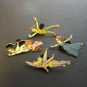 Walt-Disney-Peter-Pan-4-Pin-Booster-Collection-Wendy-Michael-Disney-Pin-60199