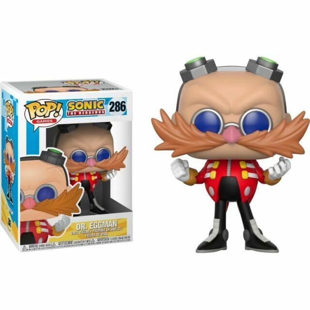 Funko Pop Games Sonic The Hedgehog Dr Eggman 286 For Sale Online Ebay