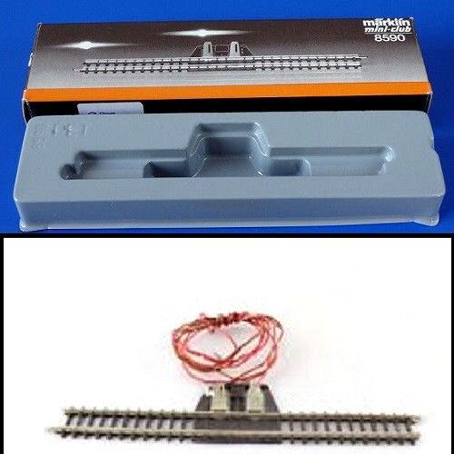 MARKLIN 8590 Binär Verschraubung Gerade 110mm Skala Z Paket Original Rail