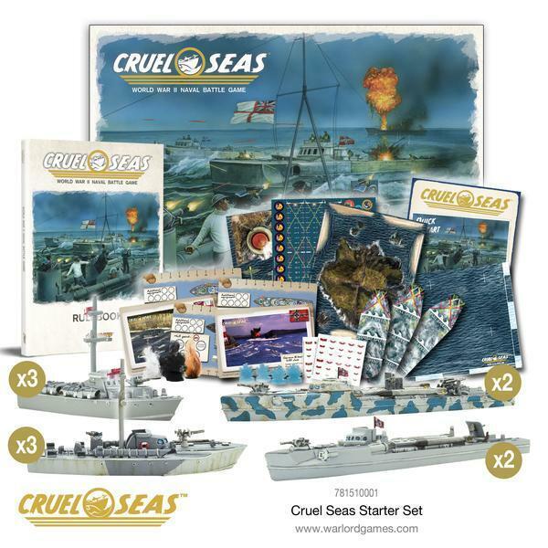 descuento de bajo precio Warlord Juegos - Cruel Seas 781510001 781510001 781510001 - Arranque Set - 1  3 00  precios razonables