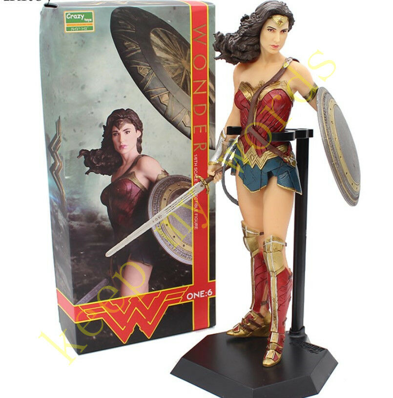 Crazy Toys DC Wonder Woman 1 6TH Action Figure Figurine 12  Collection Statue