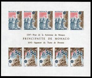 Copieux Bloc Feuillet Monaco Non Dentele N° - 22 A Cote 350 .neuf** Sup à Vendre