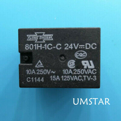 1PCS 845HN-1A-C 12VDC Relay
