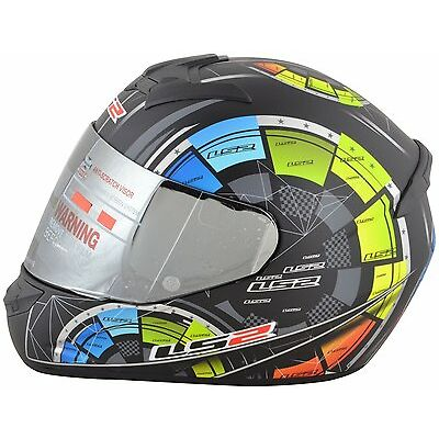 LS2 Helmets - FF352 - Tech Matt - Full Face Imported Motorcycle Helmet