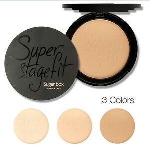 Maquiagem-Pressed-Powder-Finish-Face-Makeup-Compact-Powder-With-Sponge-Palette