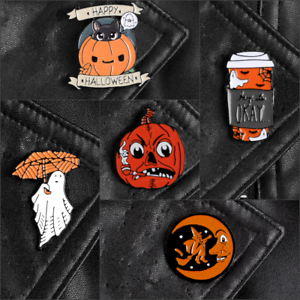 Pin-Brooches-Halloween-Backpack-Goth-Badges-Different-Hard-enamel-lapel-Ghost