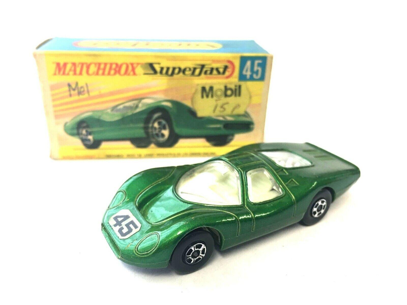 MATCHBOX SUPERFAST 45 FORD Group 6 Vintage en boîte d'origine