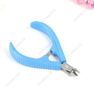 1 Pc Cuticle Nipper Hangnail Clipper Trimmer For Nail Art Care Manicure Pedicure