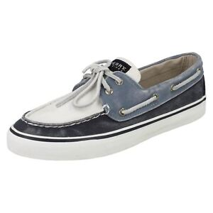 Retail Navy Sperry £35 Price By Surf 00 Bahama Boat white Ladies scarpe 0fx568qvw