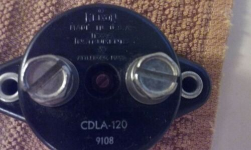 KLIXON CDLA-120 CIRCUIT BREAKER 120 AMP AUTOMATIC RESTART MARINE BOAT