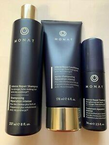 3 Irt Spray Monat Hair Shampoo Intense Repair Treatment Conditioner Hair Loss Ebay