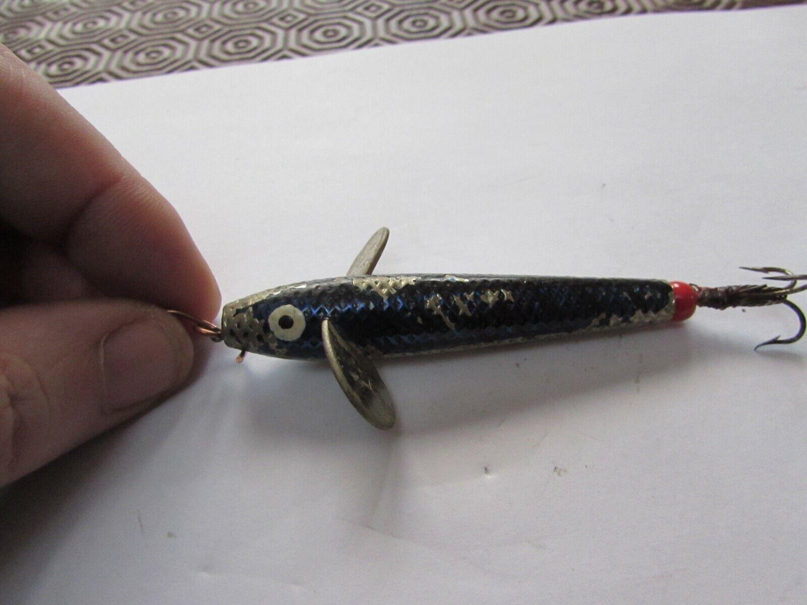 VINTAGE Hardy Alnwick PENNELL DEVON DEVON DEVON SPEY Pesca Minnow Lure enormi Taglia 3  de8ed6