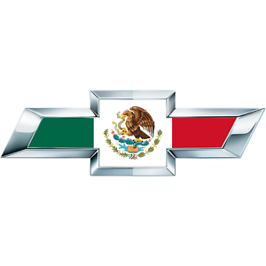 2 silverado mexican flag universal chevy bowtie vinyl. Black Bedroom Furniture Sets. Home Design Ideas