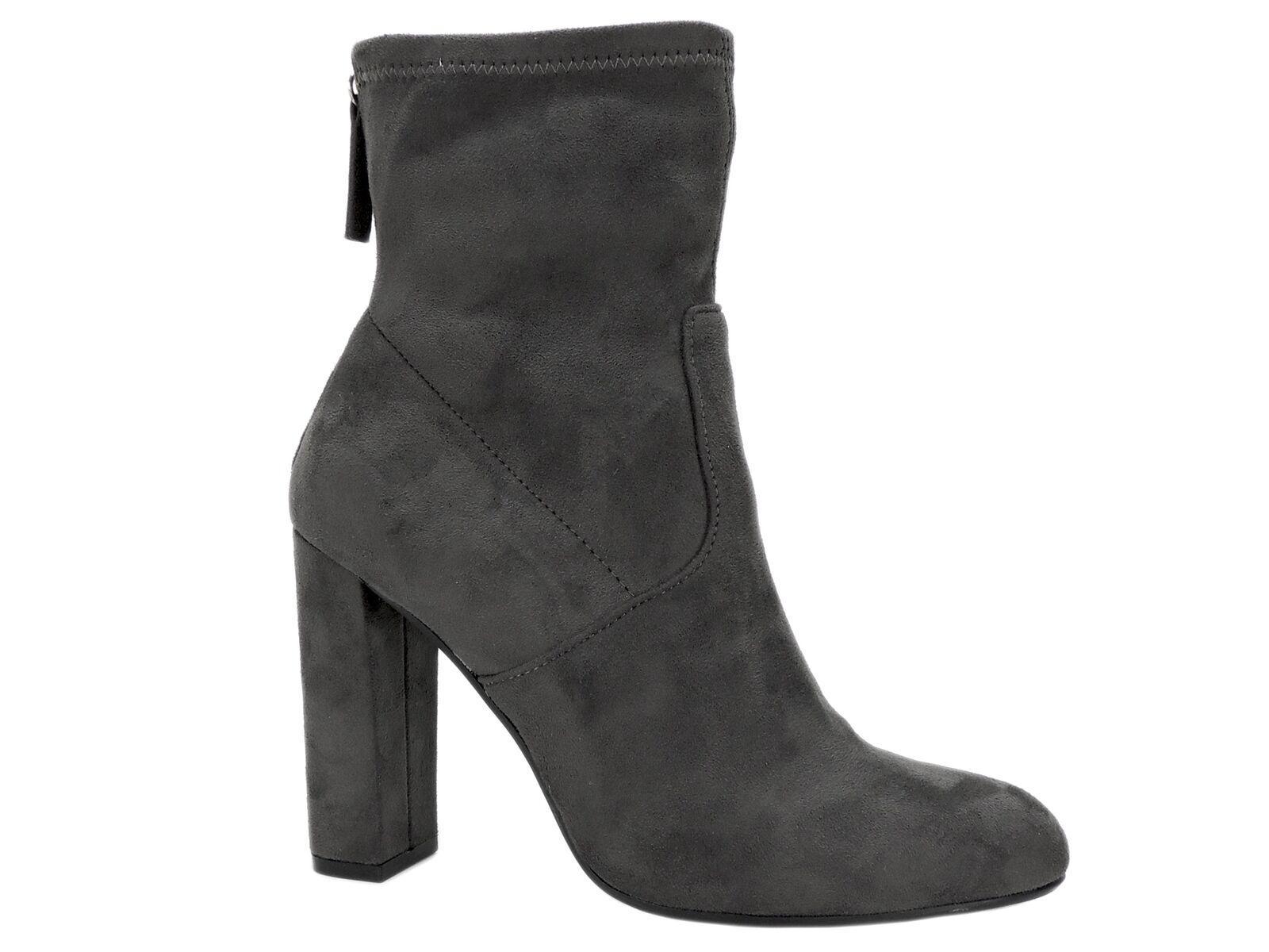 Steve Madden Women's Brisk Block-Heel Sock Booties Grey Size Size Size 5.5 M 7ff56e