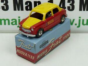 FI0D-Voiture-1-48-MERCURY-hachette-Fiat-Nuova-1100-Taxi-de-Berne-n-13