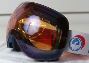 New-2018-Dragon-X1-Ski-Snowboard-Goggles-Verge-Flash-Blue-Lumalens-Bonus