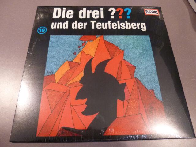 Die Drei ??? Fragezeichen - und der Teufelsberg - Picture LP Vinyl /// 19