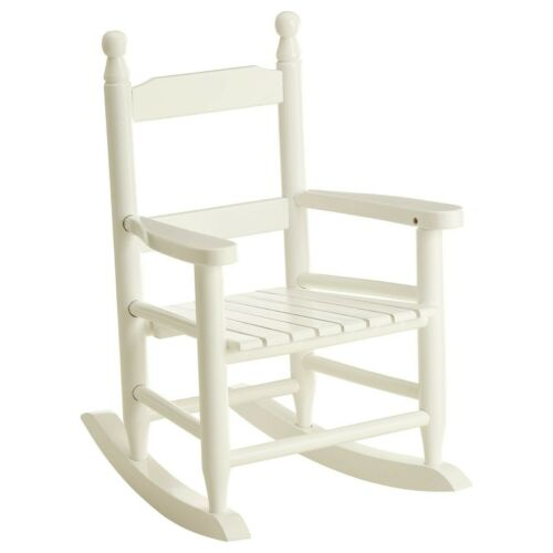 Children S Home Furniture Shabby Chic Kids Rocking Chair White Wooden Armchair Children Bedroom Hard Wood Home Furniture Diy Kuponpatent Com