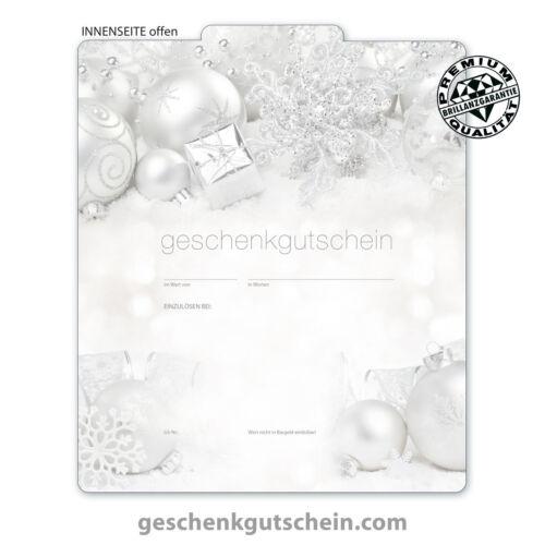 "Premium Christmas vouchers /""Multicolour/"" for all industries x225"