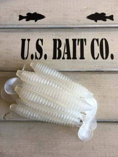 """Côtelé articulé 3.5/"""" Color Pearl lot de 25 Bass Fishing"""