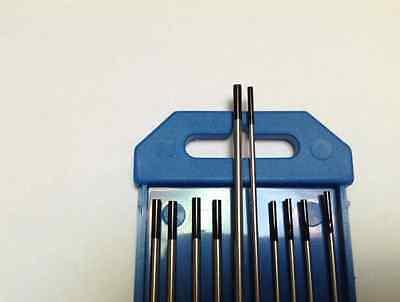 """3//32/"""" /& 1//16/"""" 1/% Lanthanated Tungsten TIG Electrodes 10 PCS 7/"""",Black WL10"""