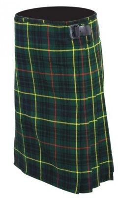 Acquista A Buon Mercato 8 Yd (ca. 7.32 M) Scottish Highland Uomo Tradizionali Per Kilt In Cucita Pieghe Top Quality-