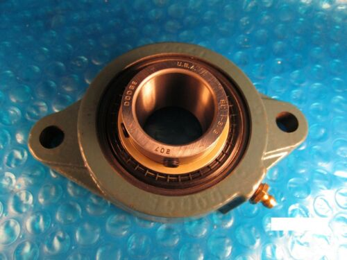 Dodge F2BSC106 124277 Ball Bearing 1-3//8 IN FLANGE UNIT BEARING