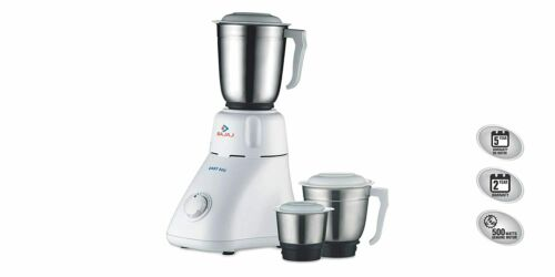 Bajaj Easy 500-Watt Mixer Grinder with 3 Jars UK Adapter Plug free