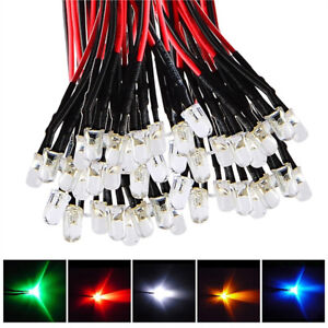 10Pcs-LED-Light-Individual-Single-Bulb-with-Attached-Pre-Wired-Bright-12V-DC-Flo