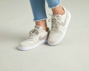Beber agua demoler Sur oeste  Nike Ebernon Low Women's Size US 7 Beige White | eBay