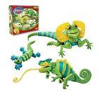 Bloco Lizards and Chameleons Building Set. HUGE Saving