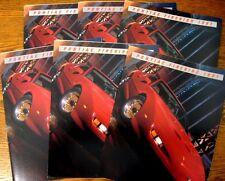 1991 Pontiac Firebird Sales Brochure LOT (6) pcs Formula Trans AM GTA Xlnt