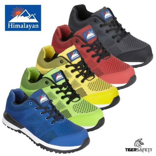 Himalayan GoWork Bounce S1P SRC 100/% Metal Free Composite Toe Safety Trainers