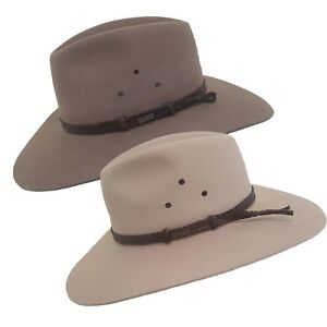 Image is loading Akubra-Riverina -Traditional-Australian-Made-Bush-Cowboy-Hat- a736e39870e