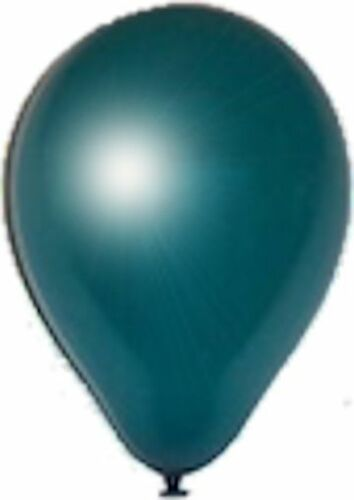 """12-96 pc 12/"""" Pearl Teal Latex Balloon Party Decoration Birthday Wedding Baby"""