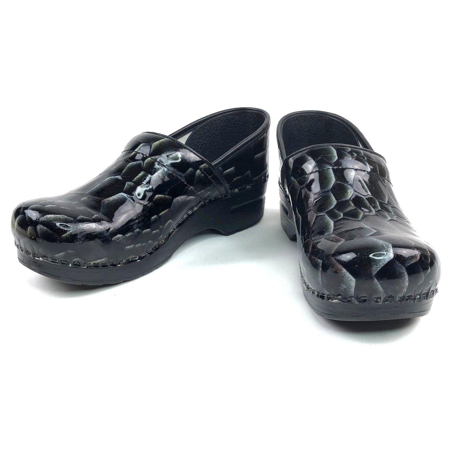 Dansko Professional Patent Leather Clogs Größe 40