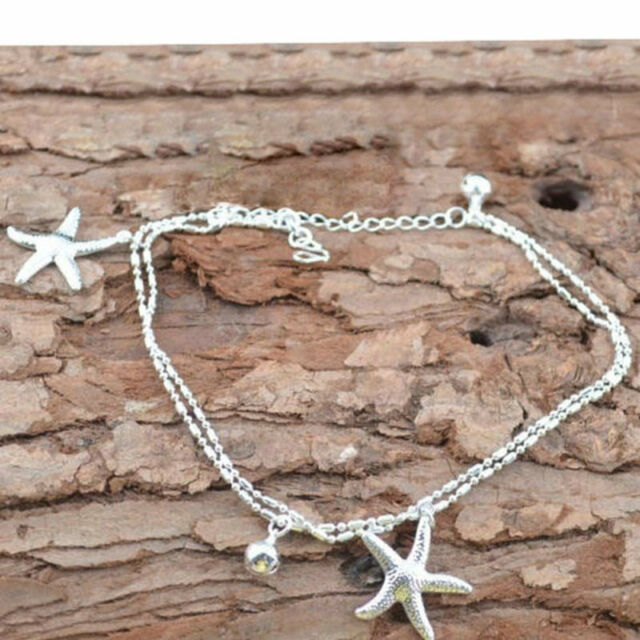 Sexy Women Starfish Ankle Chain Anklet Bracelet Foot Jewelry Sandal Beach Gift