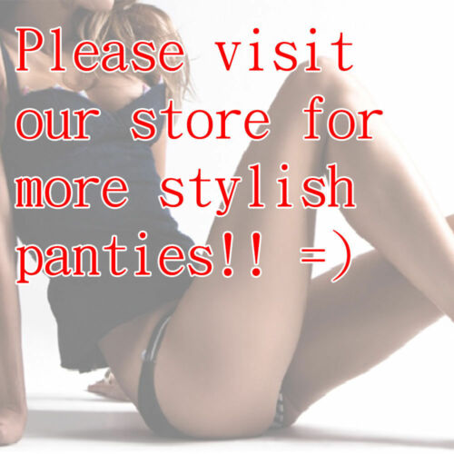 Lot of 6 Women Floral Lace Thong G-String Bikini Panties Briefs S-XL Underwear