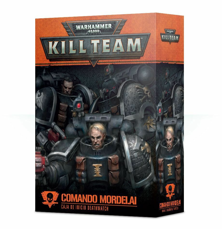 Kill Team  Comando Mordelai - Caja de inicio Deathwatch